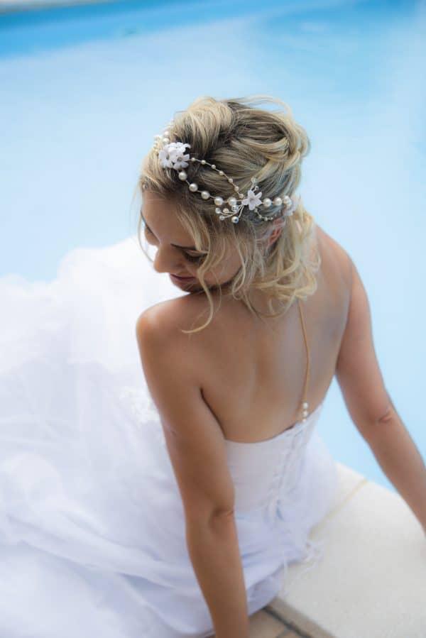 Cerchietto Lea / Collana JEWELL - Lily Hair Accessories