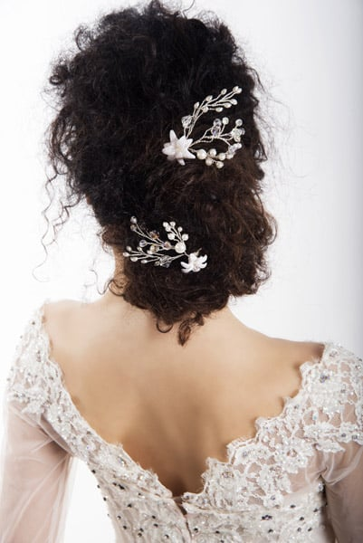 Spilla Althea Lily Hair Accessories Sposa