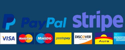 PayPal Stripe Pagamenti