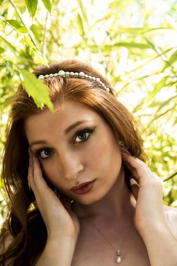 Cerchietto Selenia-Lily Hair Accessories