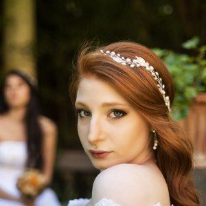 Cerchietto nuziale Vittoria - Accessori sposa